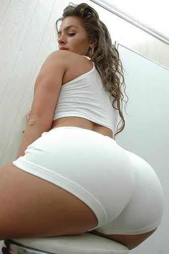 Can Big ass white booty what excellent