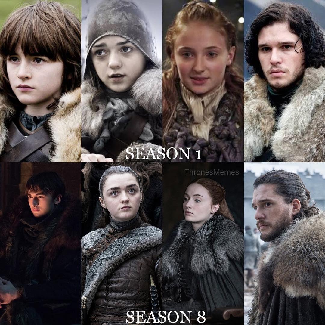 """Kit Harington on Instagram """"House Stark 🐺 Season 1"""