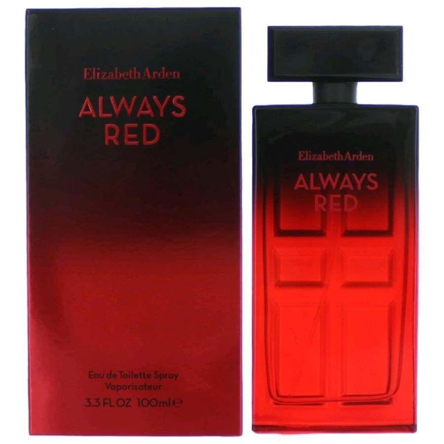 Always Red Perfume By Elizabeth Arden 34 Oz Edt Spray For Women New