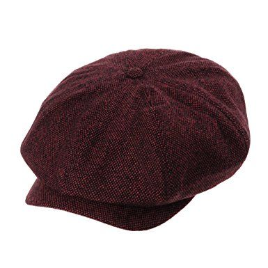 WITHMOONS newsboy Hat Wool Felt Simple Gatsby IVY Cap SL3525 Review ... 873880f69e64