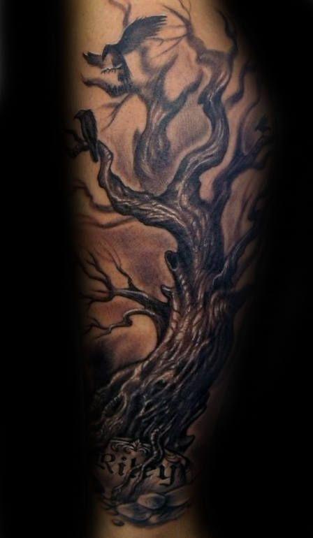 60 Family Tree Tattoo Designs For Men Kinship Ink Ideas Tree