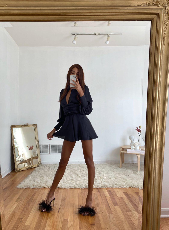 Night Out Dress Black Night Out Dress Dresses Fashion [ 1530 x 1124 Pixel ]