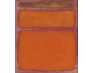 Orange, Red, Yellow Most expensive art sold
