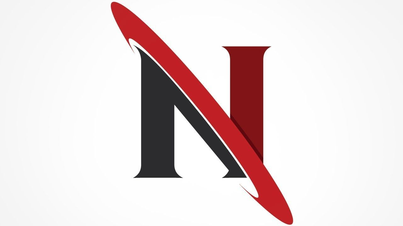 N Logo Design Illustrator Tutorial N Logo Design Graphic Design Logo Logo Design