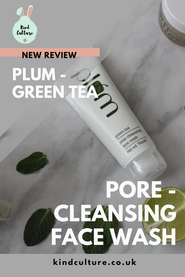 Plum Goodness Green Tea PoreCleansing Face Wash Face