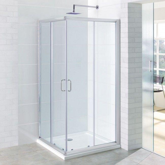 Concept Corner Entry Shower Doors