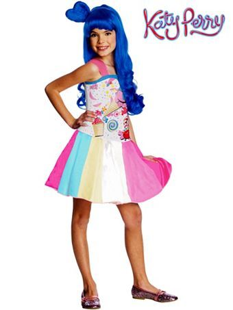 Kids Katy Perry Candy Girl Costume Thats A Knee Slapper