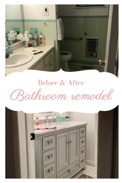 Run In High Heels Bathroom Reveal In 2020 Bathrooms Remodel Diy Bathroom Remodel Remodel
