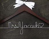 Wedding Name Hanger