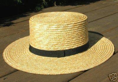 e8b693fa amish men's straw hat | Research | Mens straw hats, Hats, Amish hat