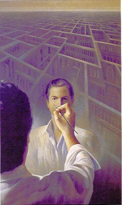Alberto Pancorbo, Laberintos del alma VII (autorretrato)