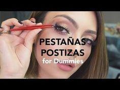 Cómo poner pestañas postizas paso a paso | Anna Sarelly – YouTube