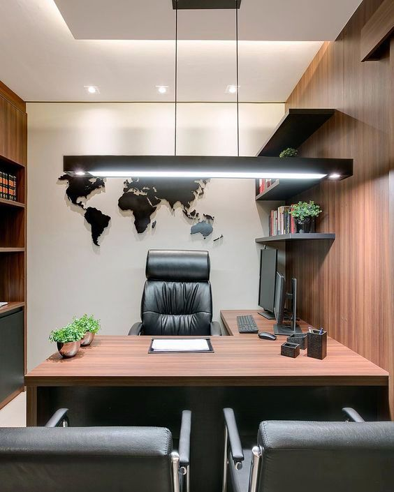 Cool Home Office Desks You Ll Love Office Furniture Design Office Table Design Modern Office Interiors