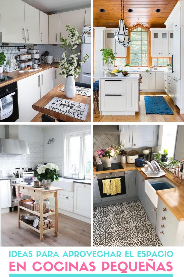 Ideas Para Aprovechar El Espacio En Cocinas Pequeñas 2020 Diseño Muebles De Cocina Diseño De Despensa De Cocina Muebles De Cocina
