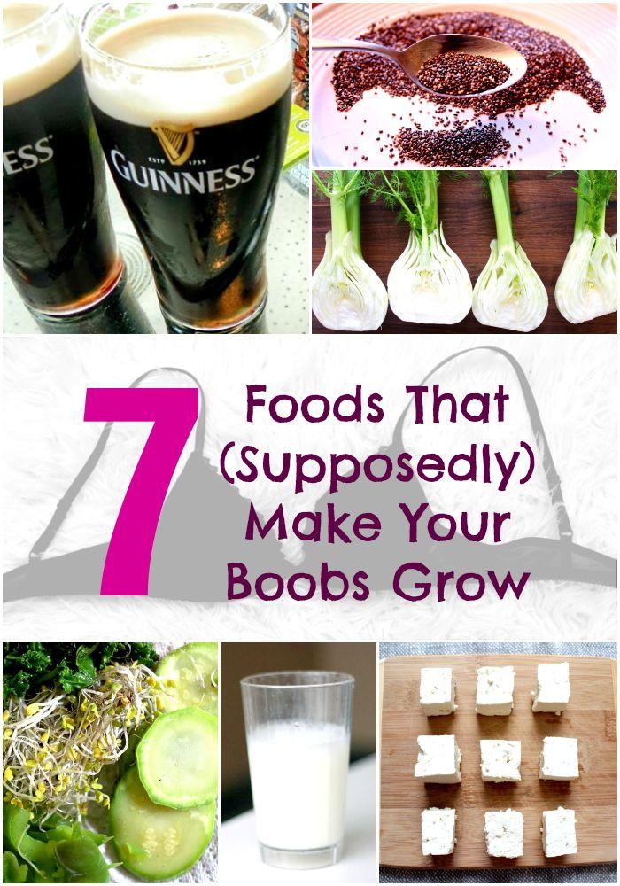 Boob food grow make that