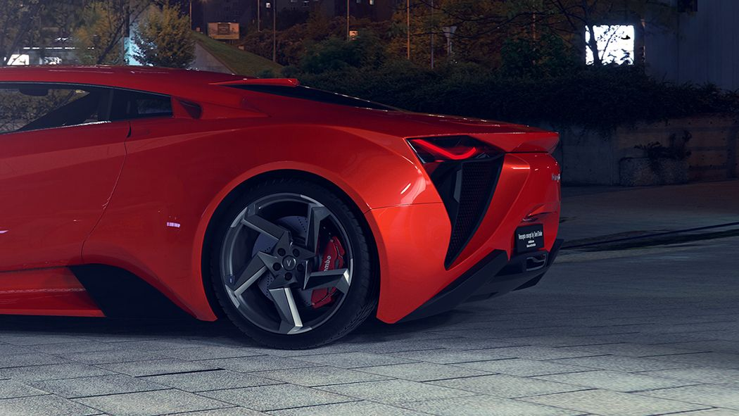 Vensepto Concept Car By Steel Drake Auto