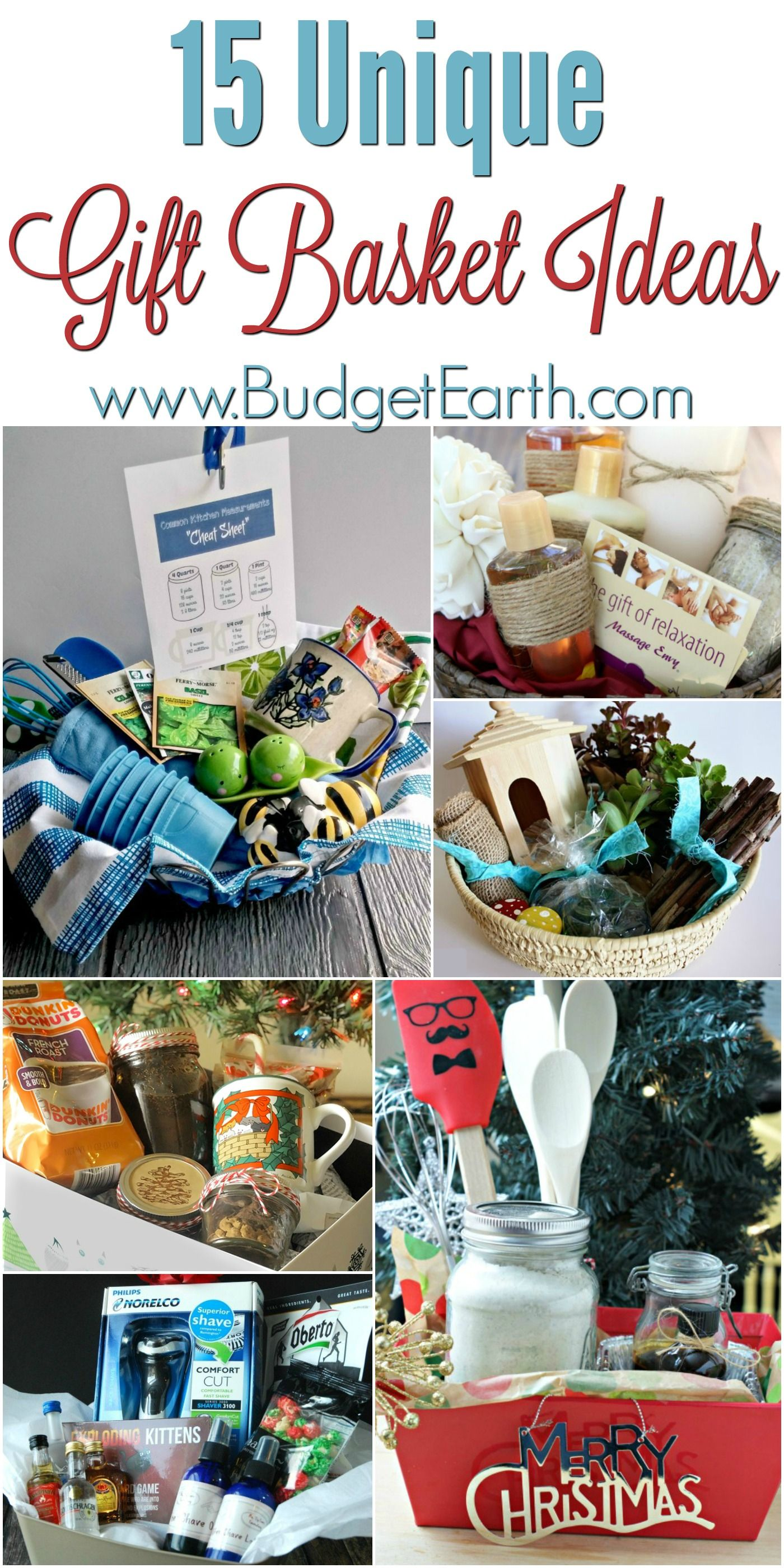 15 Unique Gift Basket Ideas Christmas Gift Baskets