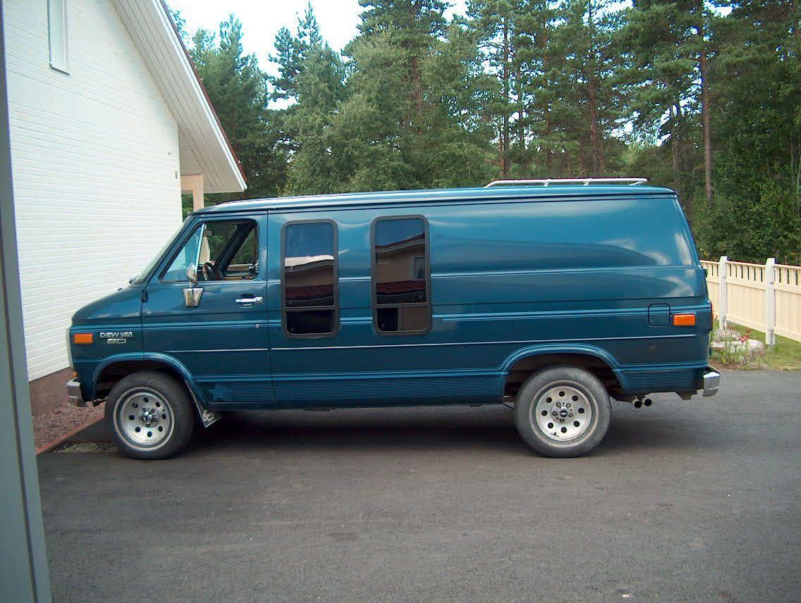 70s chevy Vans  | Chevy Van '90