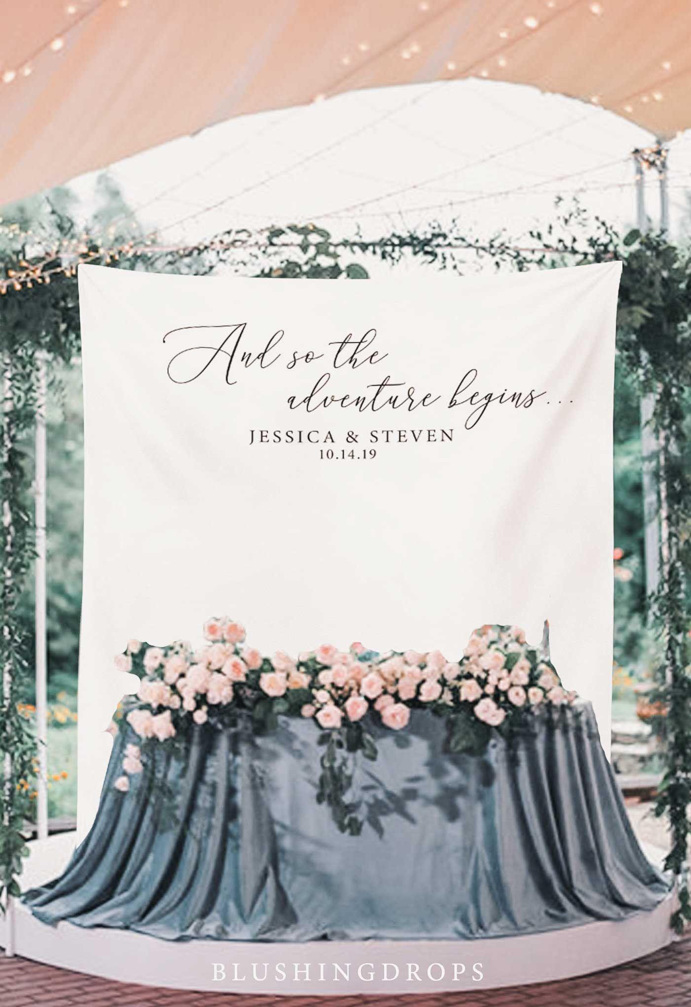 Backdrop For Wedding Rustic Wedding Decorations Wedding Photo Booth Wedding Banner Wedding Reception Calligraphy Backdrop Ideas Wedding Reception Backdrop Wedding Banner Wedding Backdrop