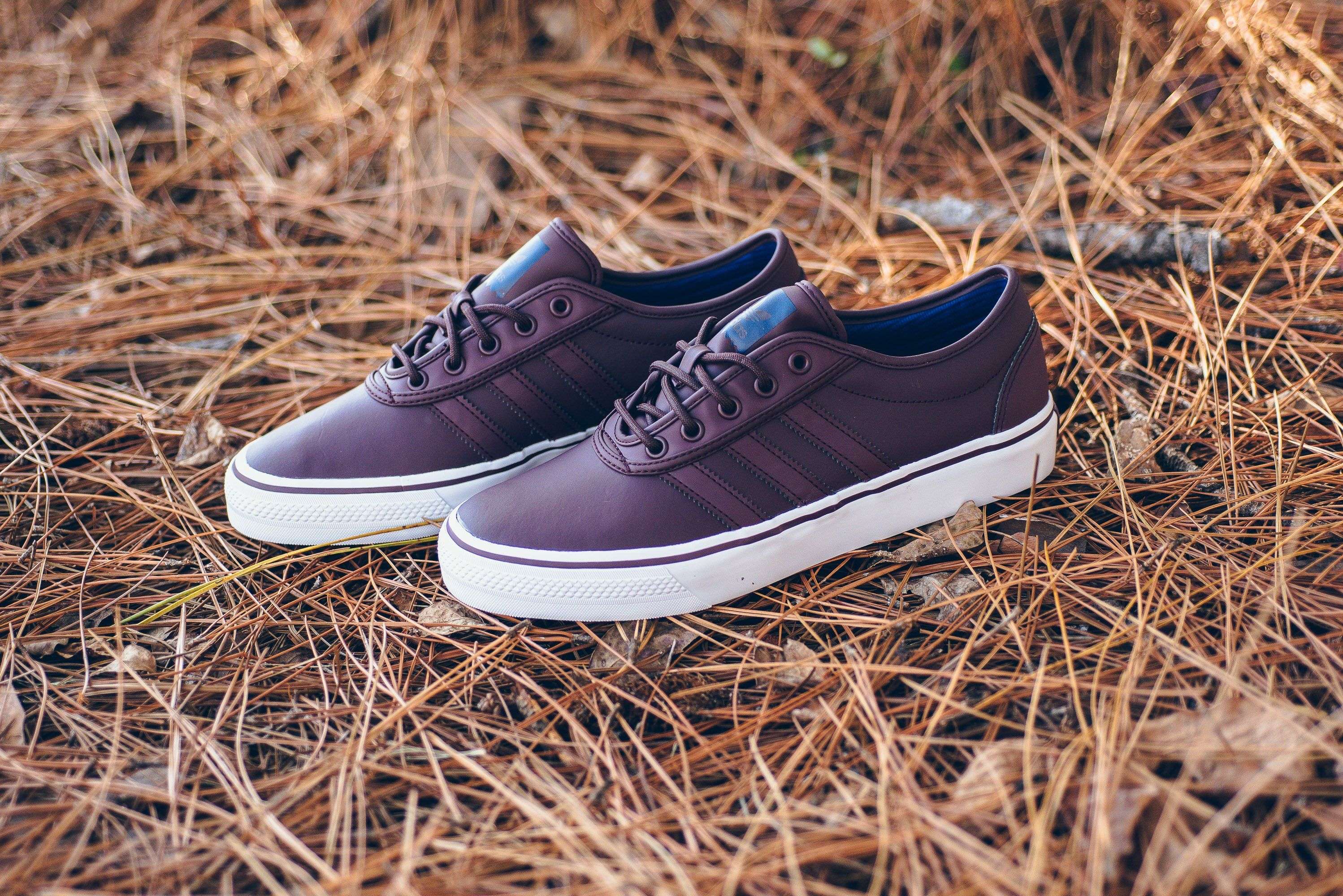 Adidas Adi Ease Dark Burgundy / blanco / Navy púrpura Pinterest