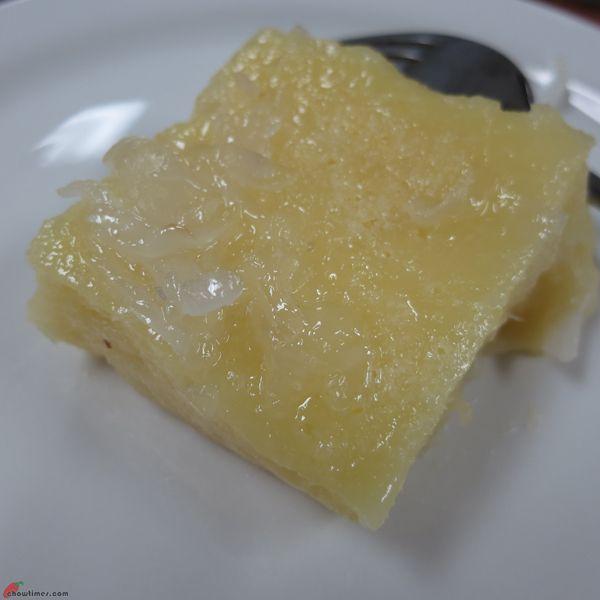 Cassava Cake with Coconut