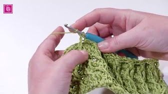 Sjaal Haken Nederlands Youtube Haken Crochet Stitches
