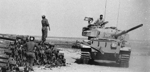 Egypt Yom Kippur War | ... Yom Kippur War between Israel and Egypt and Syria. (Photo by Harry