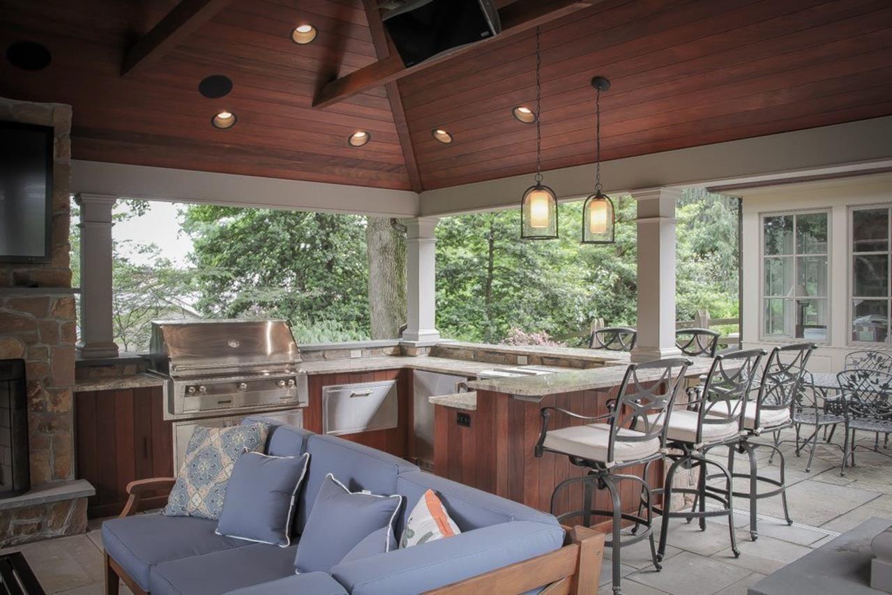 Exceptionnel Outdoor Kitchen Pavilion Designs Ideas 20