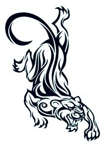 tiger panther henna tattoo design cooly pic pinterest henna rh pinterest com Pink Panther Clip Art Panther Tattoo with Mountains Clip Art