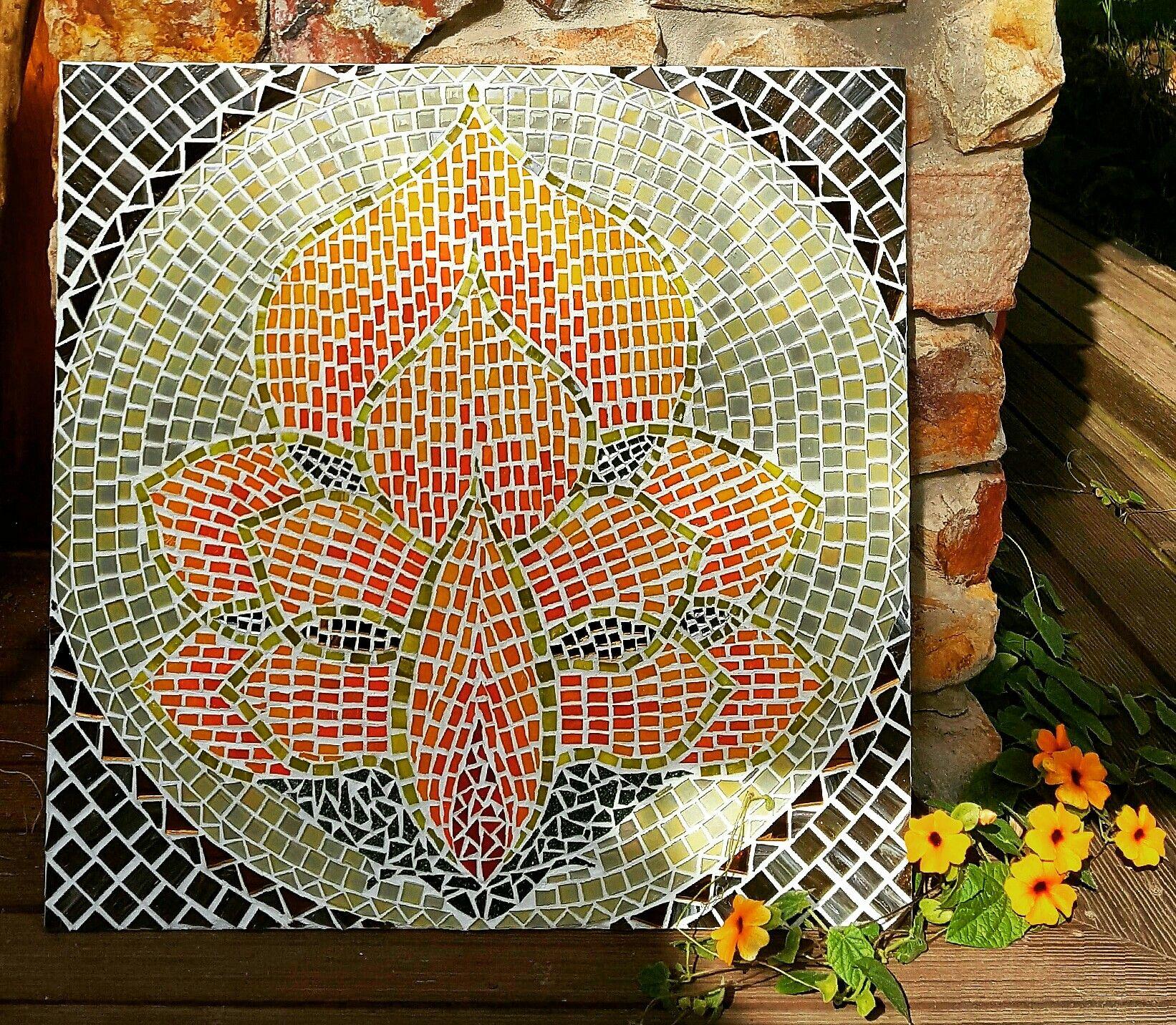 Lotus Flower Mosaic By Jo Holmwood Mozaic Ideas Pinterest Mosaics