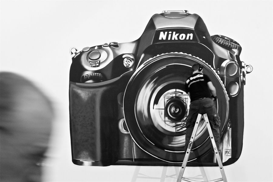 Nikon camera graffiti streetart art pinterest nikon cameras nikon camera graffiti streetart gopro coupon codenikon fandeluxe Gallery