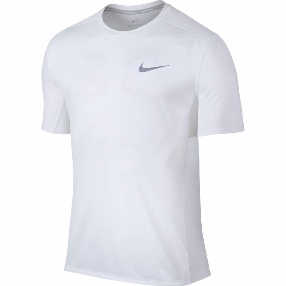 Disciplinario empujar T  Nike Men UV Dry Miler Lightweight Short Sleeve Running White XL Shirt 833591-100  #Nike #ShirtsTops | Nike running shirt, Nike clothes mens, Running tshirts