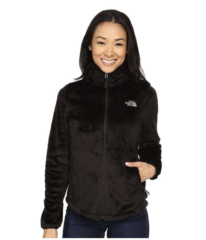 The North Face Women S Osito 2 Fleece Jacket Zip Winter Coat Black Xs S M L Xl North Face Women Womens Black Coat Black Winter Coat [ 1000 x 857 Pixel ]