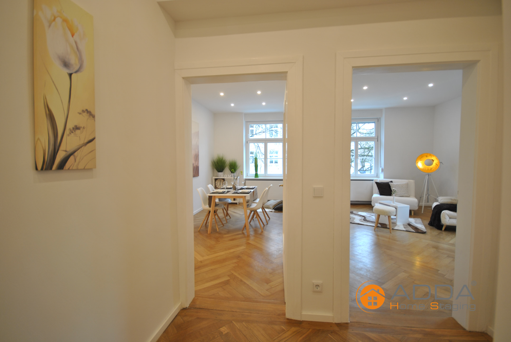 Flur #Zimmer #Bild #Blume #HomeStaging #ImmobilienAufbereitung ...