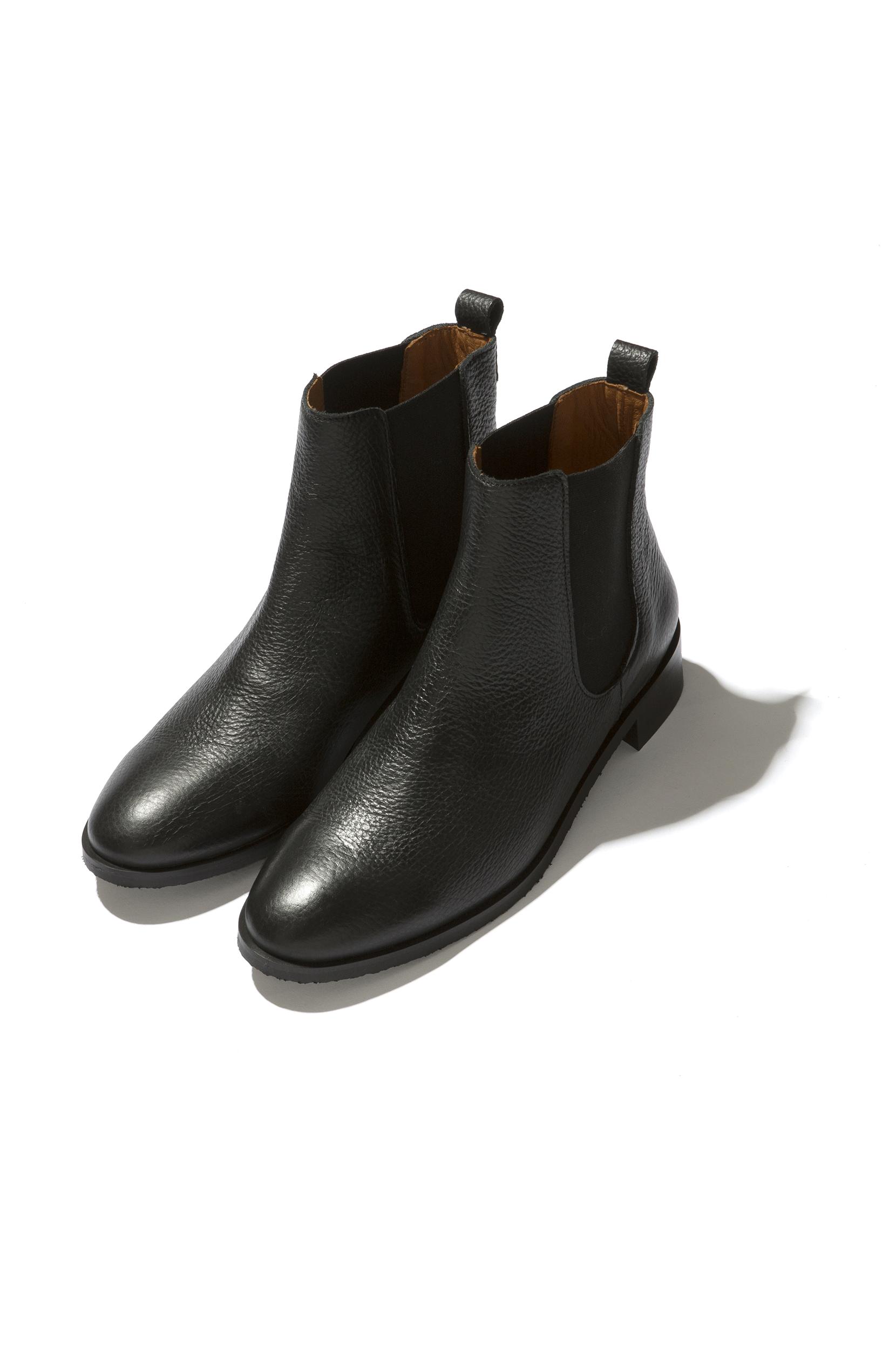 Chaussures automne à élastique noires Casual homme OkqZsyiVR