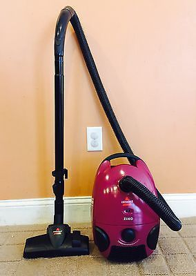 Bissell Zing Bagged Bare Floor Canister Vacuum Cleaner ~ Model 4122