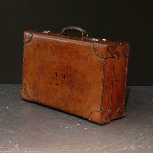 Bentleys — Vintage Leather Suitcase | suitcases | Pinterest ...