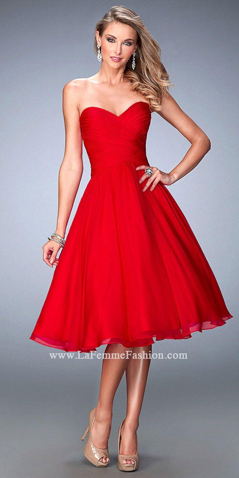 Atemberaubend Prom Kleider La Femme Zeitgenössisch - Brautkleider ...