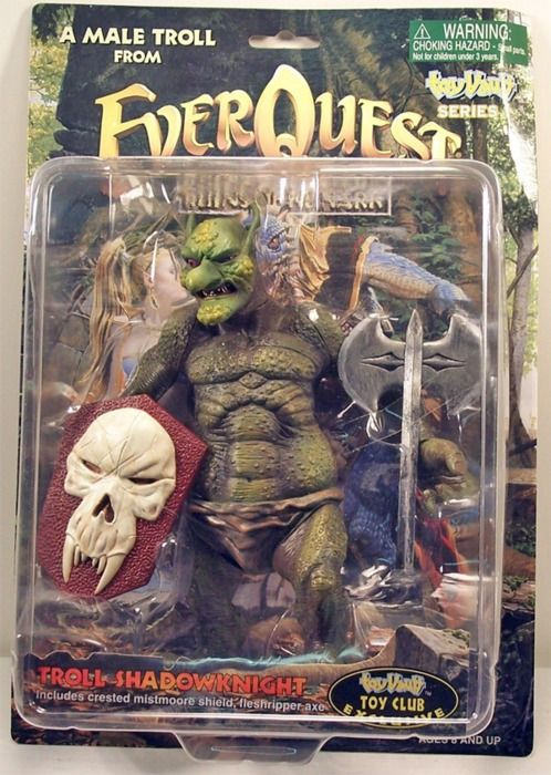 EverQuest Shadow Knight Troll Action Figure | Anything Troll