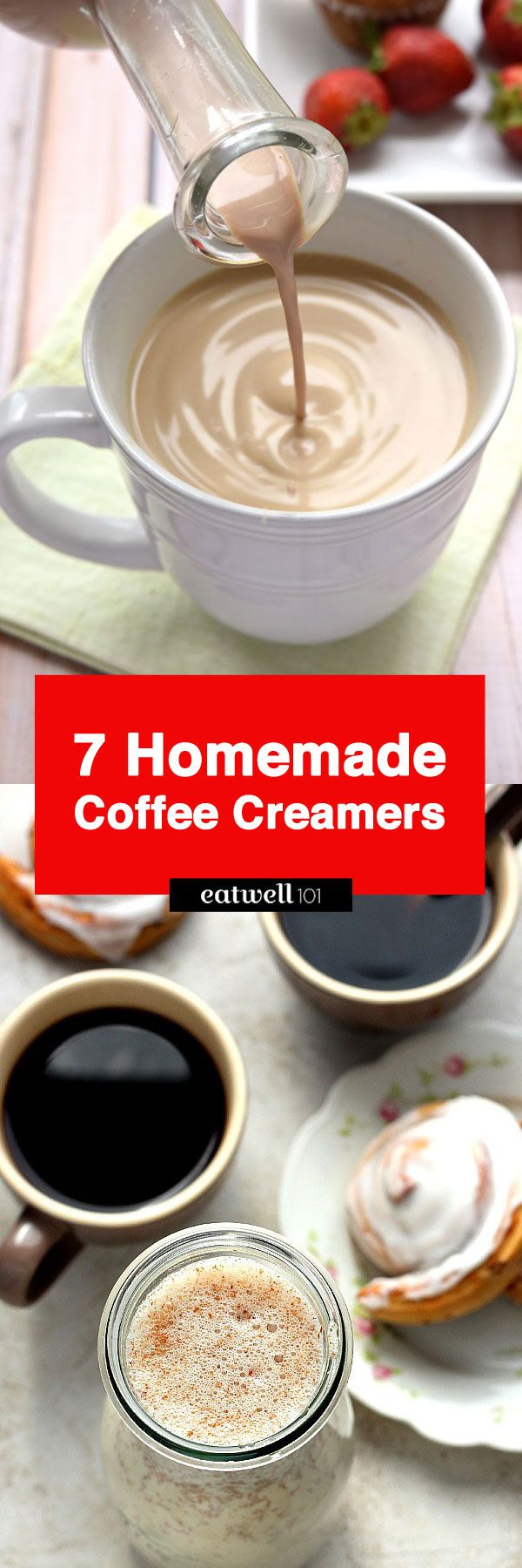 7 Homemade Coffee Creamers to Fancy Up Your Morning