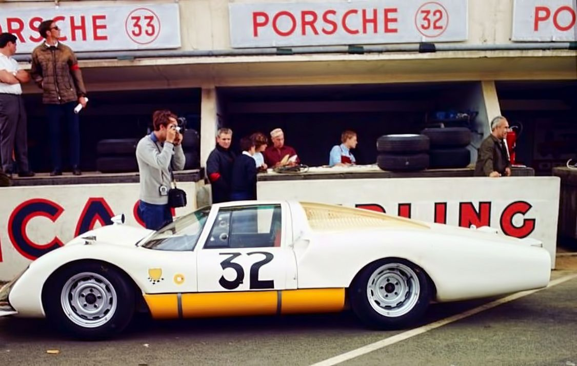 Le Mans 1966 . Porsche 906 LH , Schütz / de Klerk