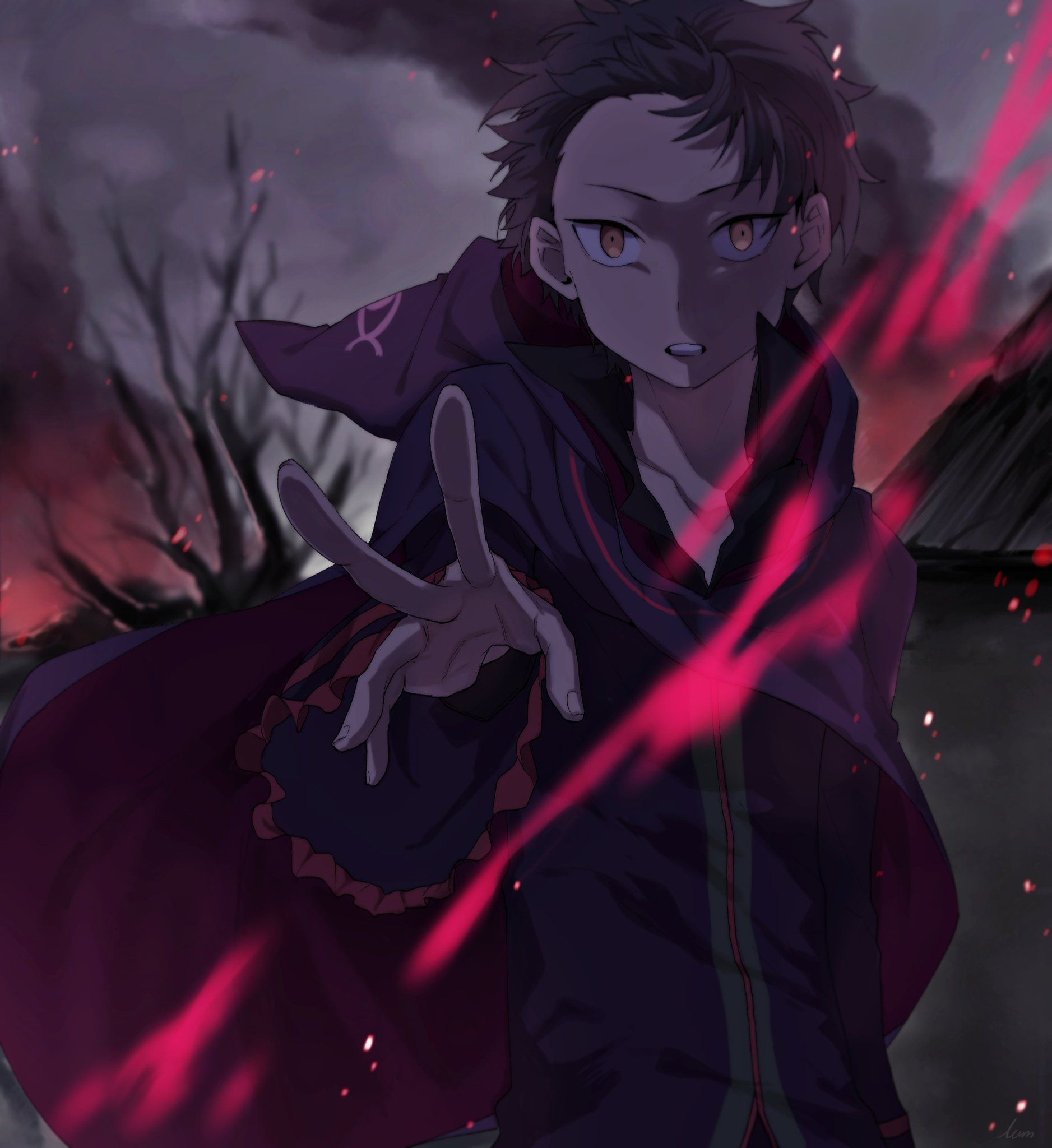 Hmph Let Me Introduce Myself I Am The Witch Cults Sin Archbishop Representing Pride Natsuki Subaru Rezero Anime Ani Animes Wallpapers Re Zero Anime