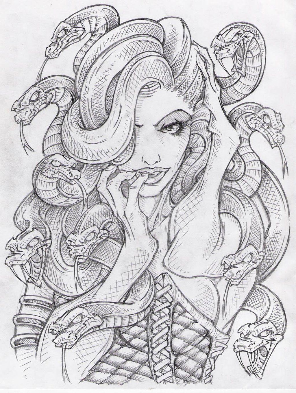 Medusa 13 By Sidewinder72 On DeviantART