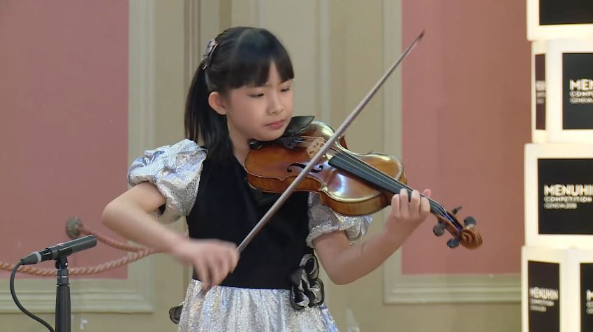 Chloe Chua Plays Ludwig Van Beethoven Astor Piazzolla Jeno Hubay Menuhin Competition 2018 Junior Semi Final Hd Violinists Young Musician Violin Student