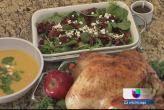 ¡Cena de Acción de Gracias sin cargo de conciencia! Thanksgiving dinner light