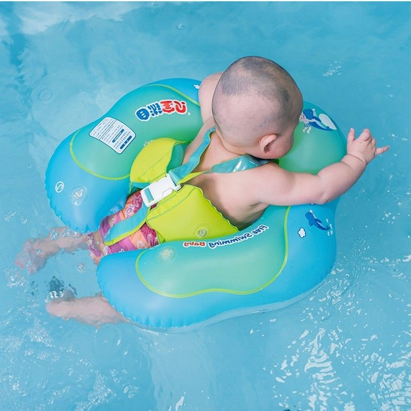 Click To Buy Baby Swimming Ring Inflatable Infant Armpit Floating Kids Swim Pool Accessories Circle Baby Swimming Kids Swimming Swimming Pool Accessories