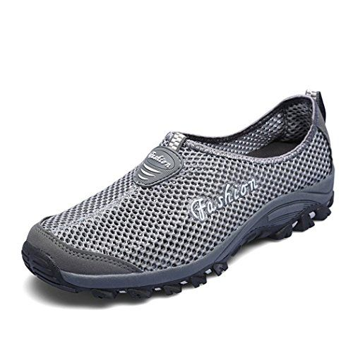 Fashion Couple's Climbing Shoes Slip-on Breathable TPR Outsole Men's Quick-dry Sneakers