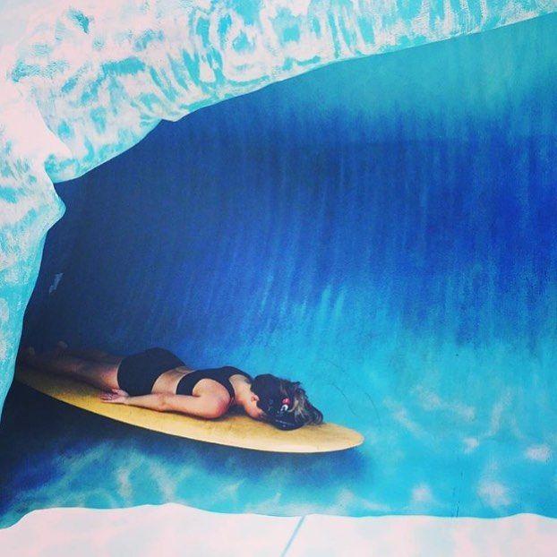 Surfed out. Photo @linzydavidson
