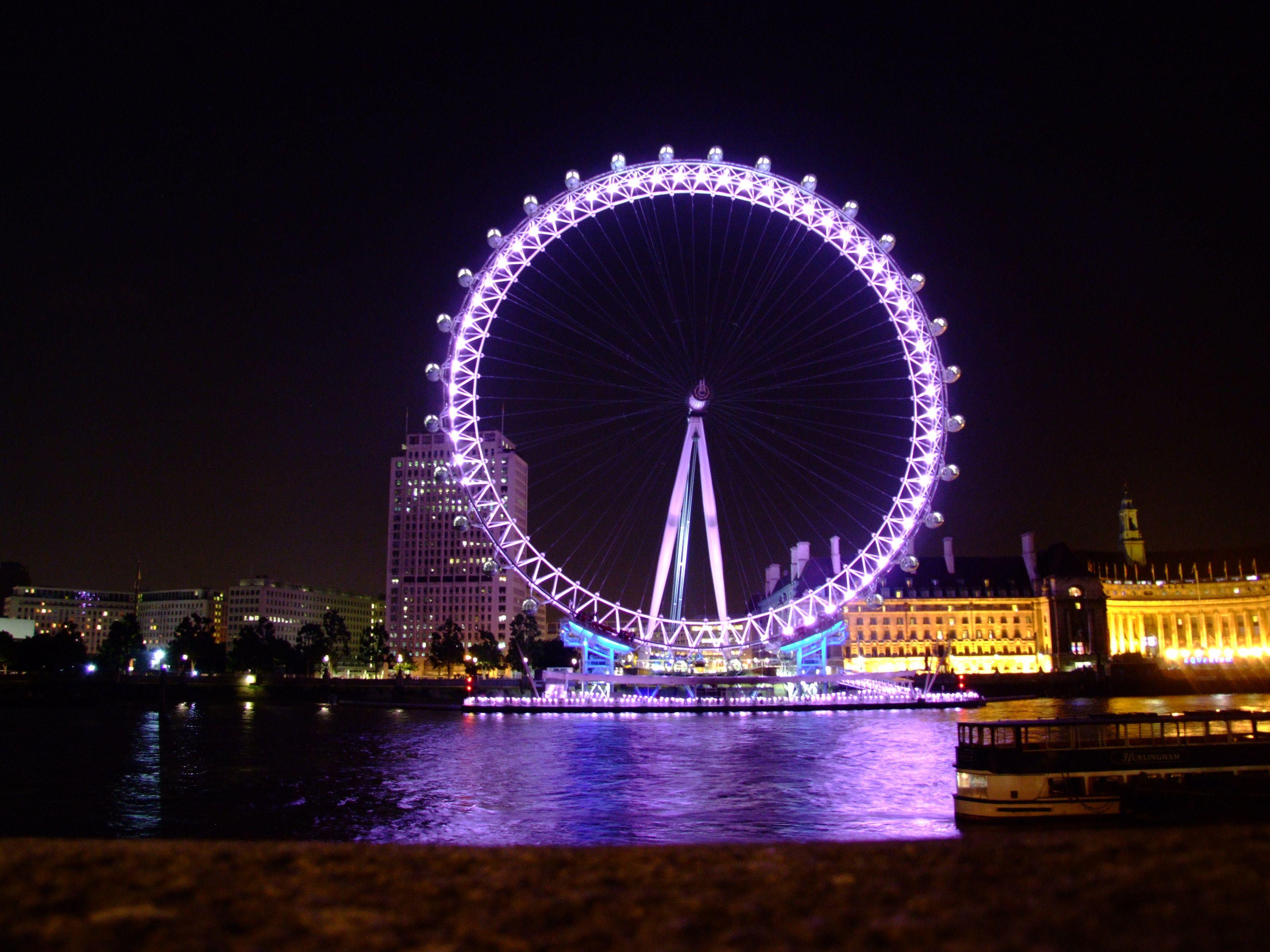 London Eye At Night London Eye London Eye At Night London