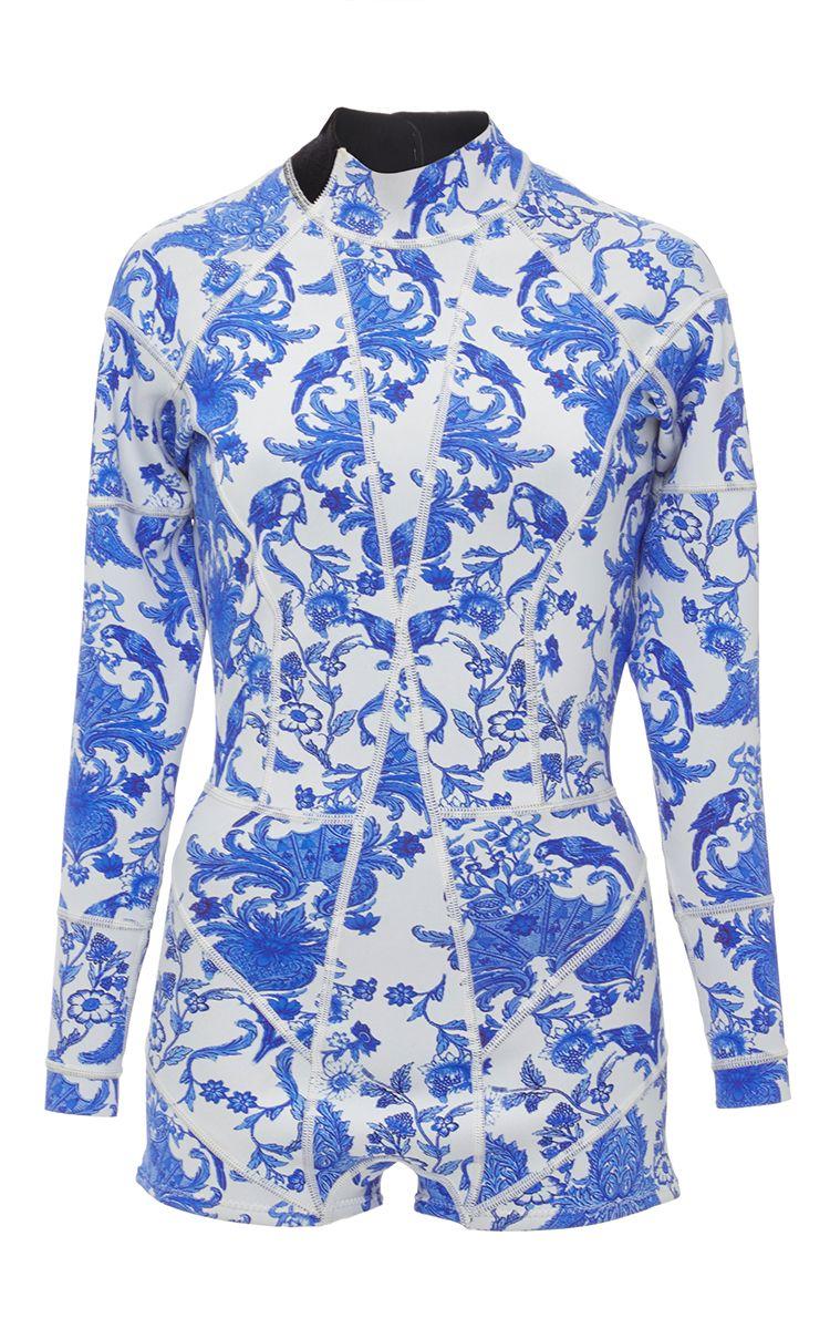 China Print Wetsuit by CYNTHIA ROWLEY for Preorder on Moda Operandi